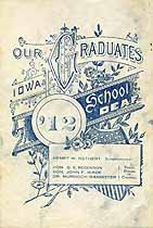 Thumbnail image of Iowa School for the Deaf 1912 Graduation cover