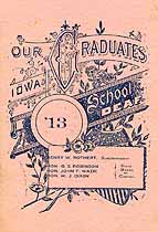 Thumbnail image of Iowa School for the Deaf 1913 Graduation cover