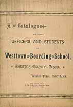 Thumbnail image of Westtown Boarding School 1887-88 Catalogue cover
