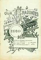 Thumbnail image of Iowa School for the Deaf 1910 Graduation cover