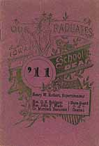 Thumbnail image of Iowa School for the Deaf 1911 Graduation cover