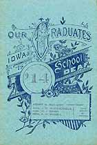 Thumbnail image of Iowa School for the Deaf 1914 Graduation cover