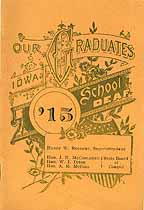 Thumbnail image of Iowa School for the Deaf 1915 Graduation cover