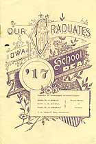 Thumbnail image of Iowa School for the Deaf 1917 Graduation cover