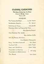 Thumbnail image of Iowa School for the Deaf 1924 Graduation cover