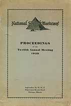 Thumbnail image of National Selected Morticians 1929 Proceedings cover