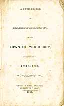 Thumbnail image of Woodbury Mortality Records (1783-1853) cover