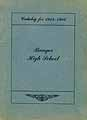 Thumbnail image of Bangor High School 1915-16 Catalog cover