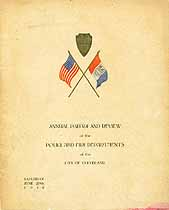 Thumbnail image of Cleveland Police and Fire Department 1918 Rosters cover