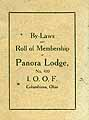 Thumbnail image of Panora Lodge I.O.O.F. 1923 By-Laws cover