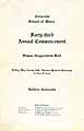 Thumbnail image of Colorado School of Mines 1917 Commencement cover