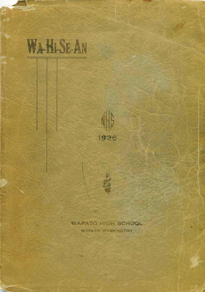 Thumbnail image of Wa-Hi-Se-An 1926 cover