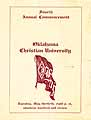 Thumbnail image of Oklahoma Christian University 1911 Commencement cover