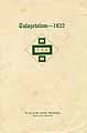 Thumbnail image of Tulazetalum 1922 cover