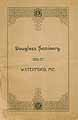 Thumbnail image of Douglass Seminary 1886-87 Catalogue cover