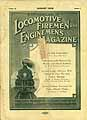 Thumbnail image of Locomotive Firemen and Enginemen's Magazine 1928 August cover