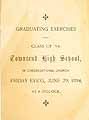 Thumbnail image of Townsend High School 1894 Graduation cover