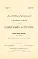 Thumbnail image of Grammar Schools 26th Section Constitutional Centennial cover