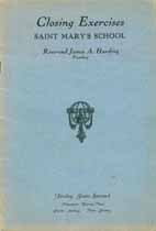 Thumbnail image of Saint Mary's School 1939 Closing Exercises cover
