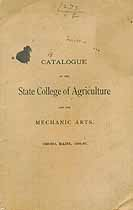 Thumbnail image of Maine School of Agriculture 1886-87 Catalogue cover