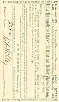 Thumbnail image of New Hampshire Masonic Mutual Relief Assoc. Assessments (1891-1892) cover