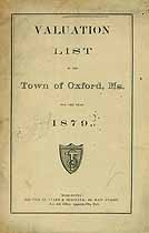 Thumbnail image of Oxford 1879 Valuation List cover