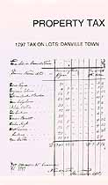Thumbnail image of Danville Property Tax List for 1819 cover