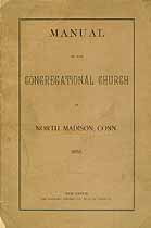 Thumbnail image of North Madison Congregational Church 1890 Manual cover