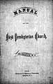 Thumbnail image of Bridgeton First Presbyterian Church 1870 Manual cover