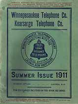 Thumbnail image of Laconia N. H. 1911 Telephone Directory cover