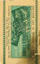 Thumbnail image of Raymond and Whitcomb's 1907 Tour to California cover