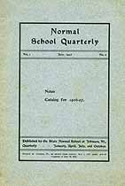 Thumbnail image of Vermont State Normal Schools 1906-07 Catalogue cover