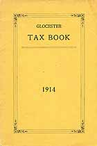 Thumbnail image of Glocester Tax Book 1914 cover