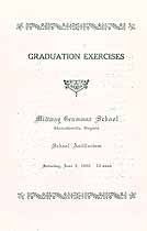 Thumbnail image of Midway Grammar School 1929 Graduation cover
