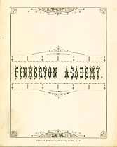 Thumbnail image of Pinkerton Academy 1884 Graduation cover