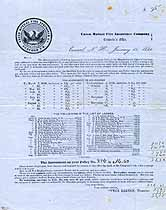 Thumbnail image of Union Mutual Fire Insurance Co. 1854 List of Losses cover