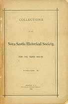 Thumbnail image of Nova Scotia Historical Society 1896-98 Members cover