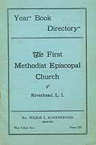 Thumbnail image of Riverhead First Methodist Episcopal Church 1924 Year Book cover