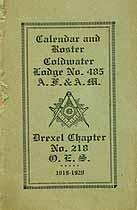 Thumbnail image of Drexel Masonic Roster for 1919-1920 cover