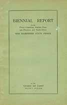 Thumbnail image of New Hampshire State Prison 1914 Biennial Report cover