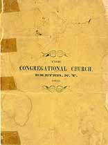 Thumbnail image of Exeter Congregational Church 1892 Members cover