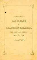 Thumbnail image of Bradford Academy 1854 Catalogue cover