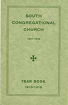 Thumbnail image of Concord South Congregational Church 1915-16 Year Book cover