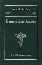 Thumbnail image of Hitchcock Free High School 1905-6 Catalogue cover