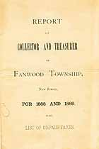Thumbnail image of Fanwood Township 1888/9 Unpaid Taxes cover