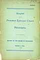 Thumbnail image of Phila. Protestant Episcopal Hospital 1894 Report cover