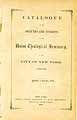 Thumbnail image of Union Theological Seminary N.Y.C. 1859-60 Catalogue cover