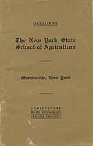 Thumbnail image of N. Y. School of Agriculture 1926 Catalogue cover