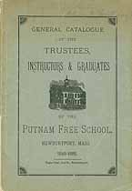 Thumbnail image of Putnam Free School 1848-85 Catalogue cover
