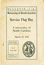 Thumbnail image of Univ. of So. Carolina Service Flag Day 1918 cover